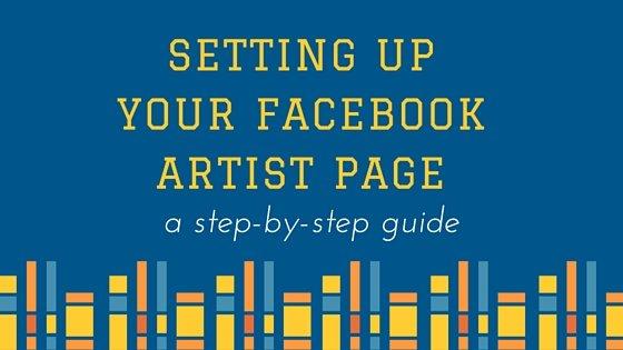 Facebook Artist Page Set Up