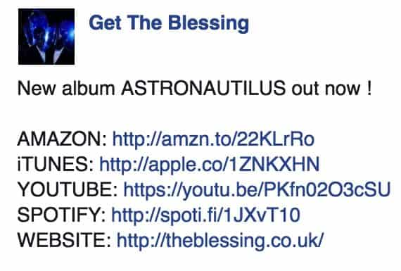 Jazz Album Facebook Links