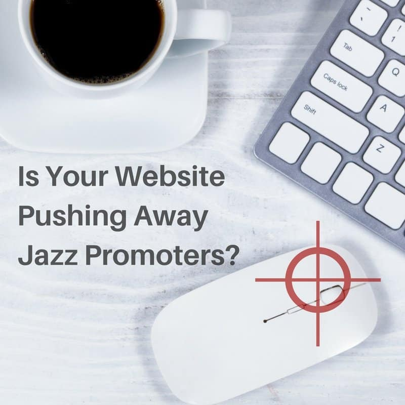 Advert / Gig-ready websites by Jazzfuel