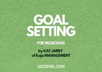 Why setting goals makes you a better musician