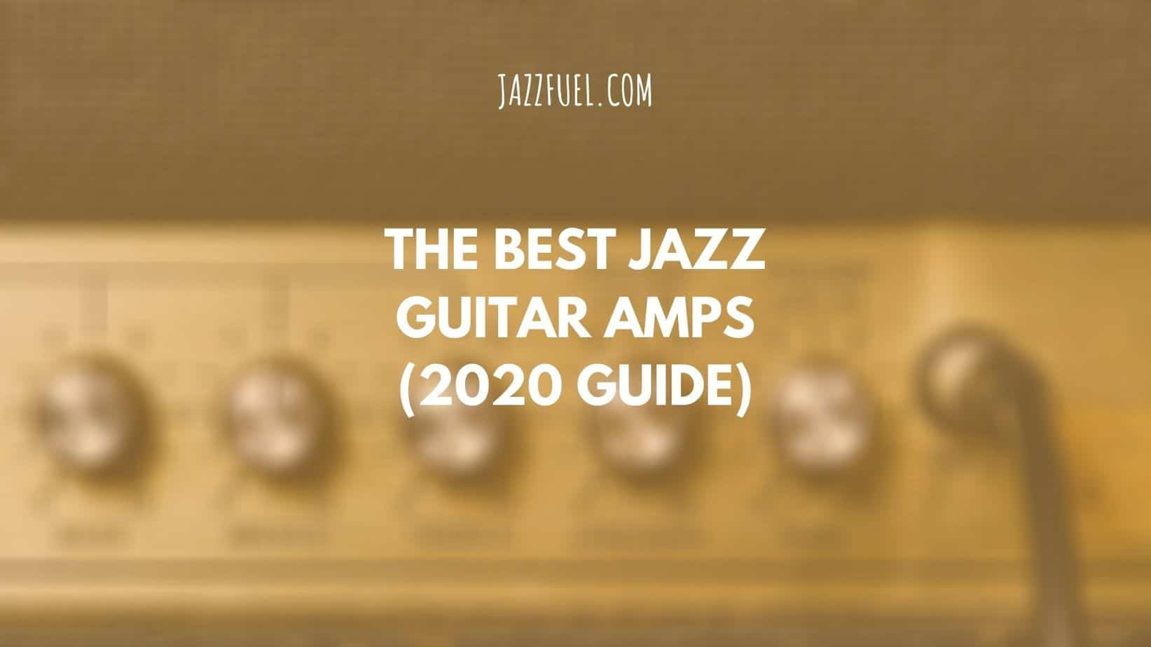 Jazz guitar amps