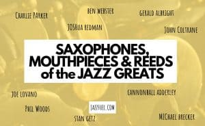 Saxophone set ups