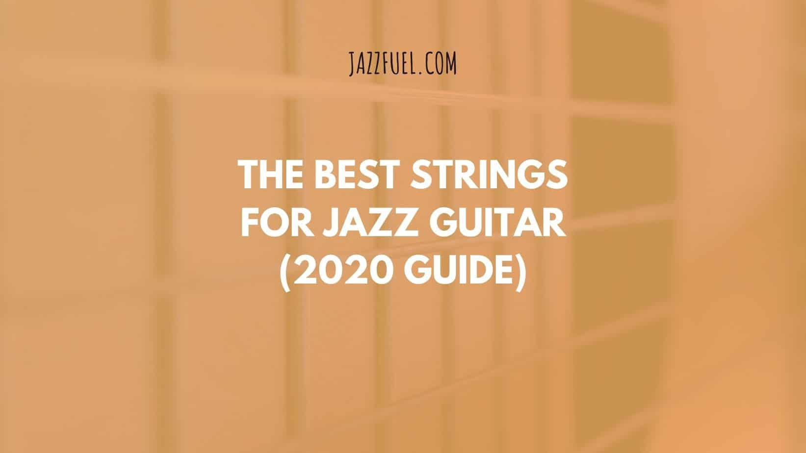 jazz guitar strings