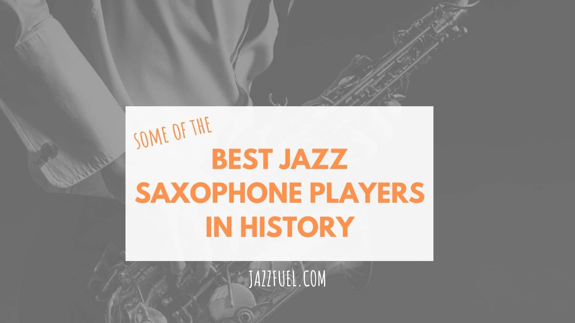 jazz saxophone players