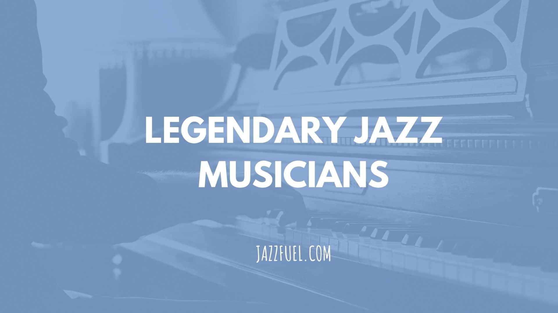 jazz musicians title