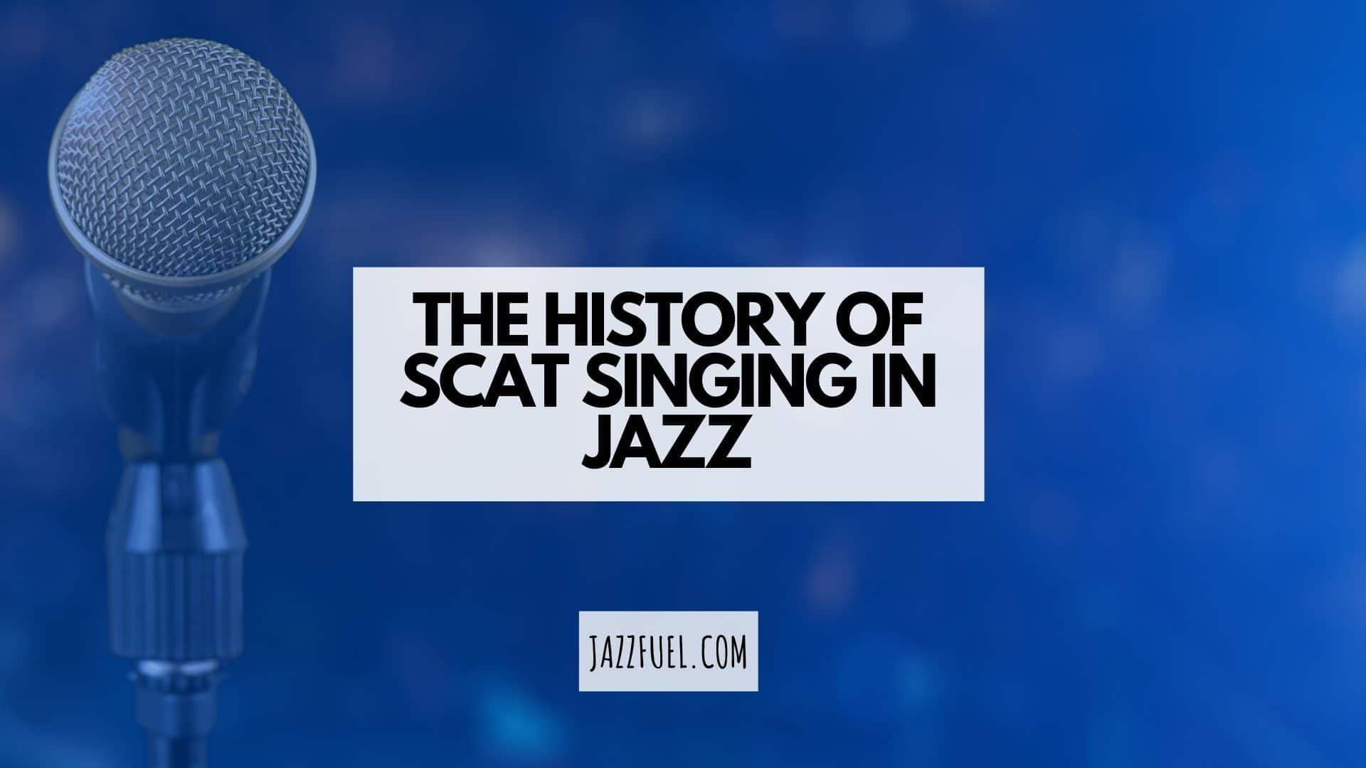 Jazz Scat singing