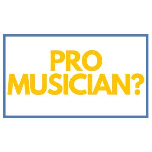 Pro Musician sidebar